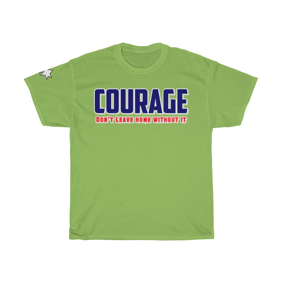 Unisex Heavy Cotton Tee - Courage II