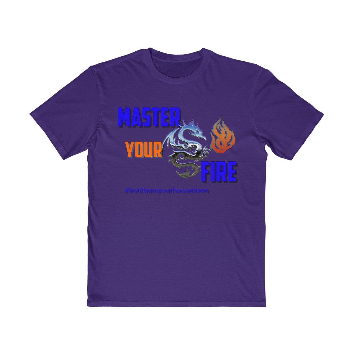 Men's Very Important Tee - Master Your Fire