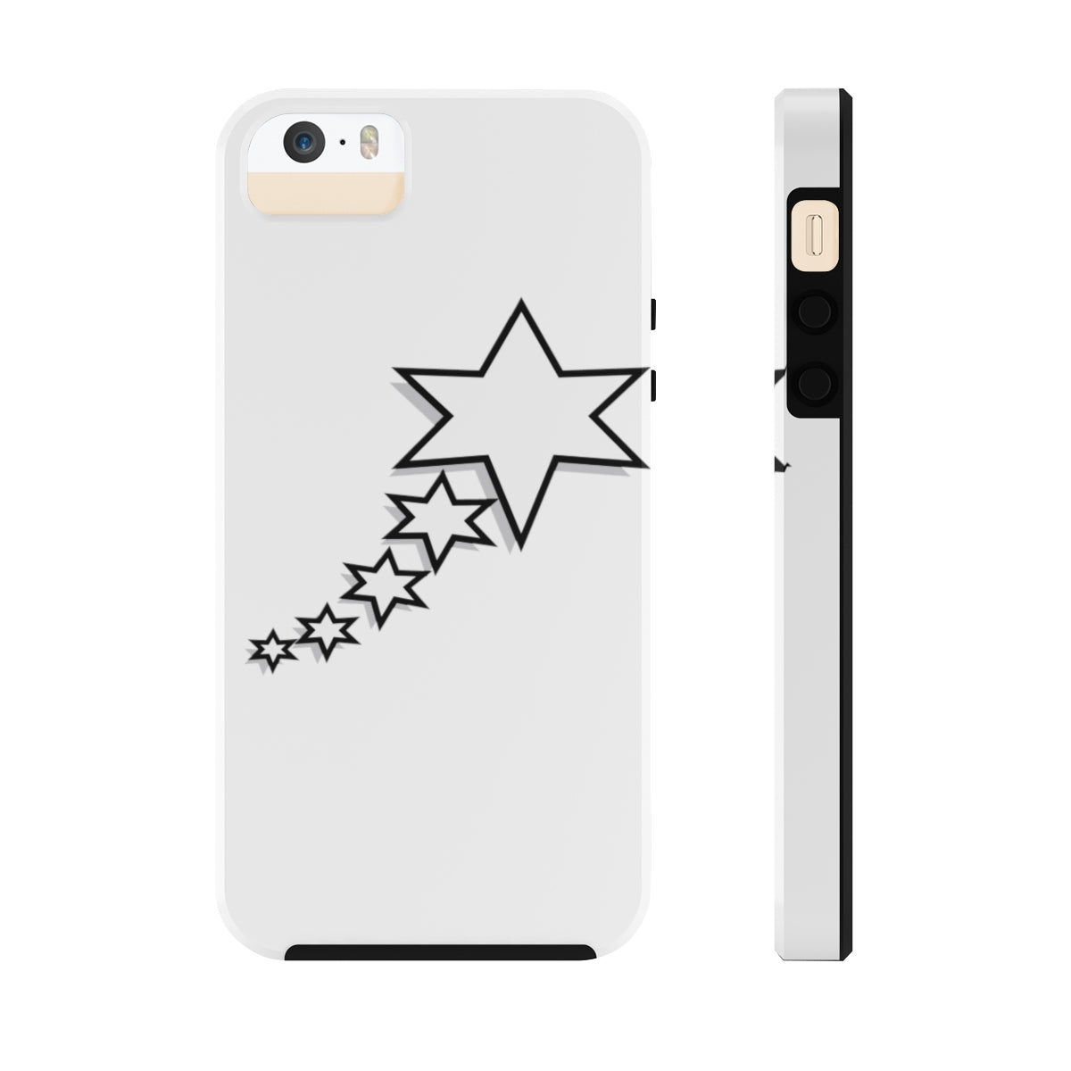 Case Mate Tough Phone Cases - 6 Points 5 Stars (White)