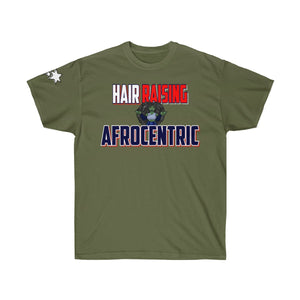 Unisex Ultra Cotton Tee - Hair Raisin g Afrocentric