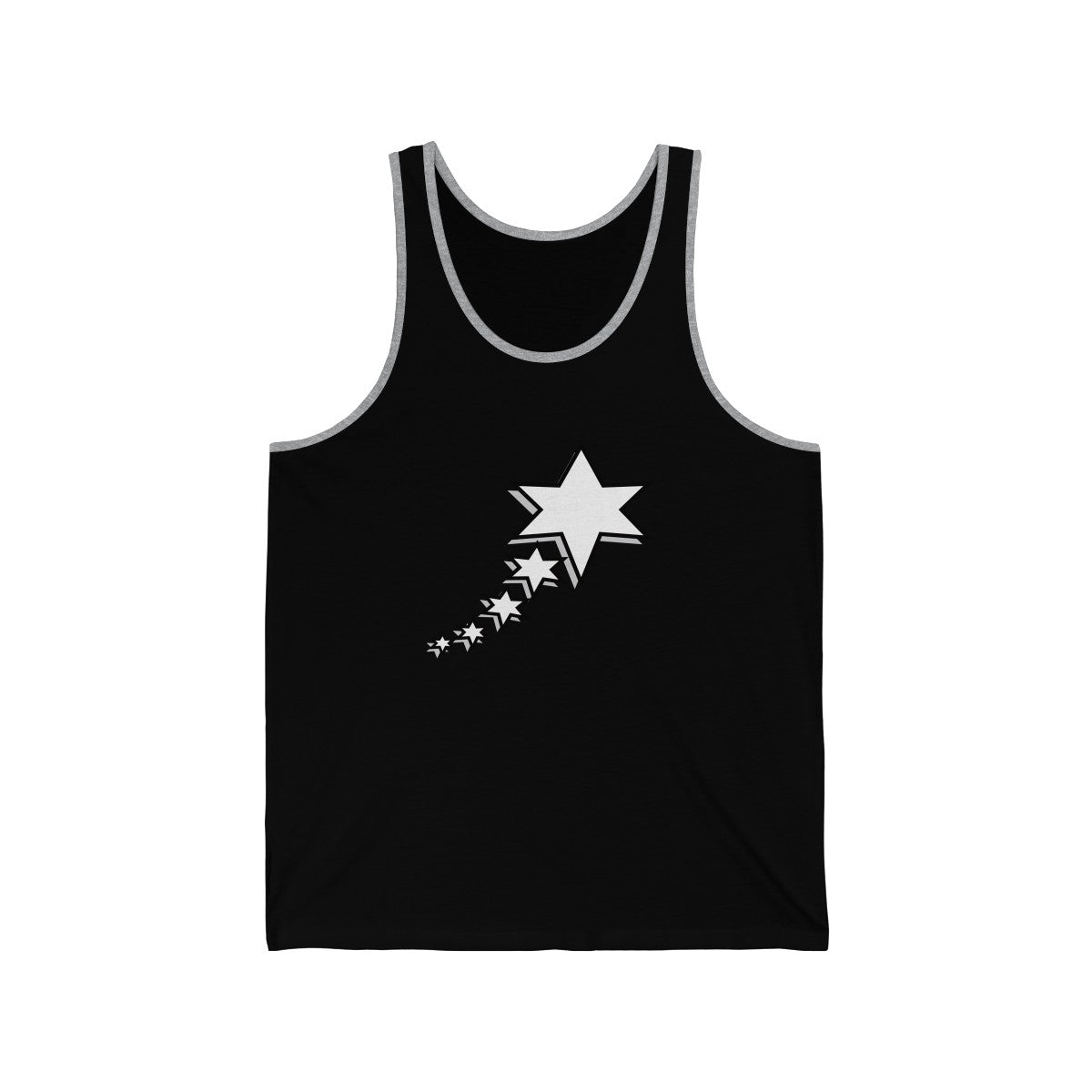 Unisex Jersey Tank - 6 Points 5 Stars (White)