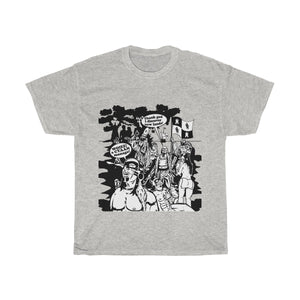 Unisex Heavy Cotton Tee - Christopher Columbus