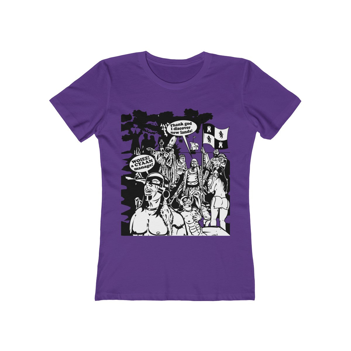Women's The Boyfriend Tee - Christopher Columbus
