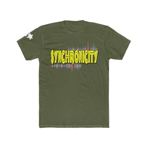 Men's Cotton Crew Tee - Synchronicity