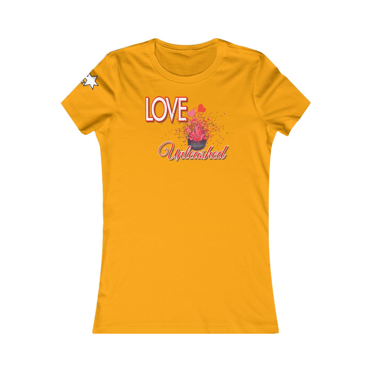 Women's Favorite Tee - Love Unleashed 1