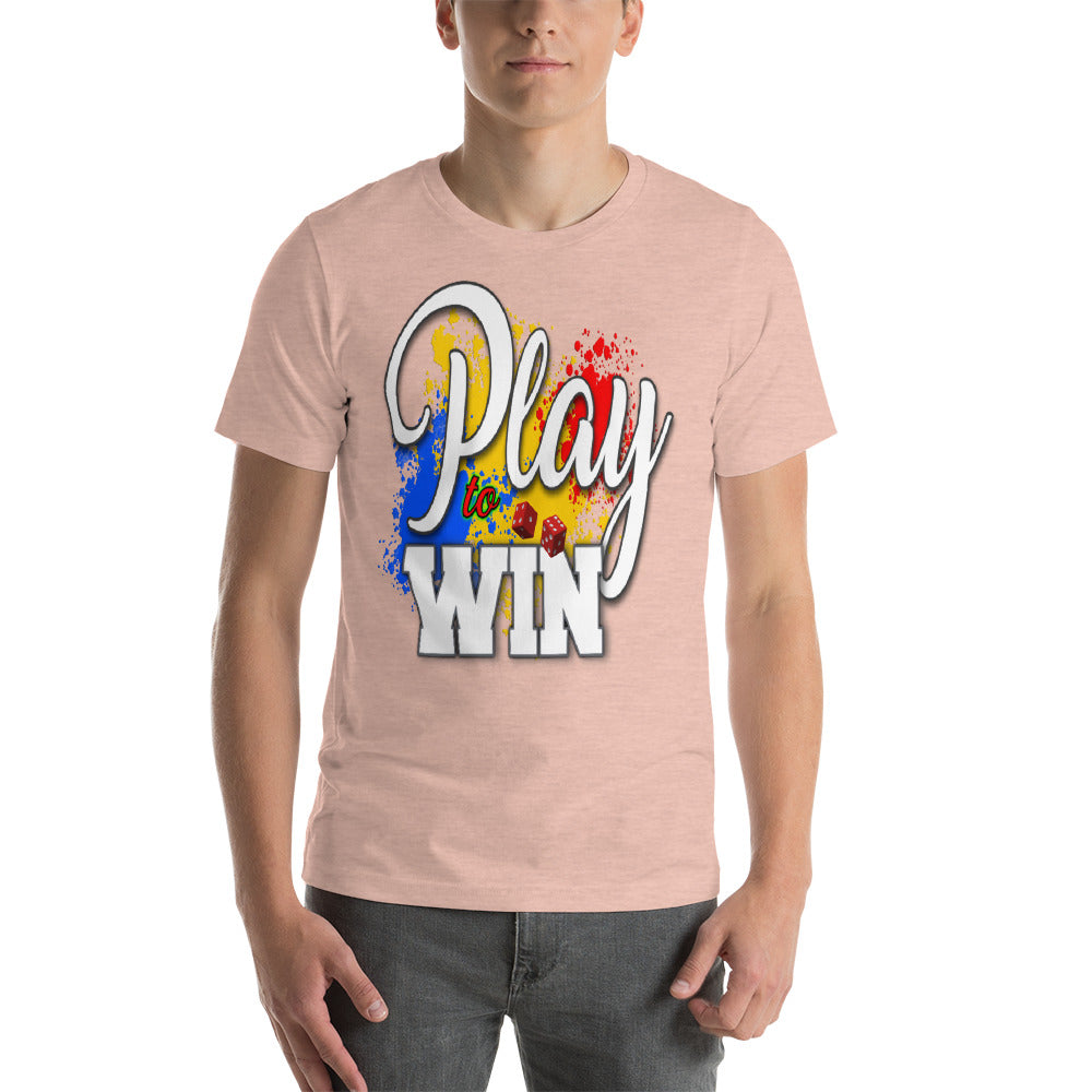 Short-Sleeve Unisex T-Shirt - Play to Win