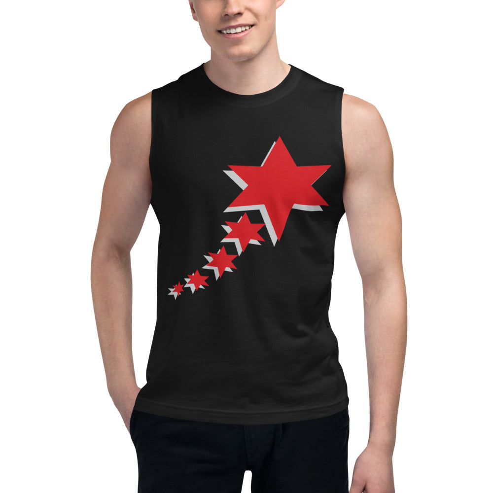 Muscle Shirt - 5 Stars 6 Points