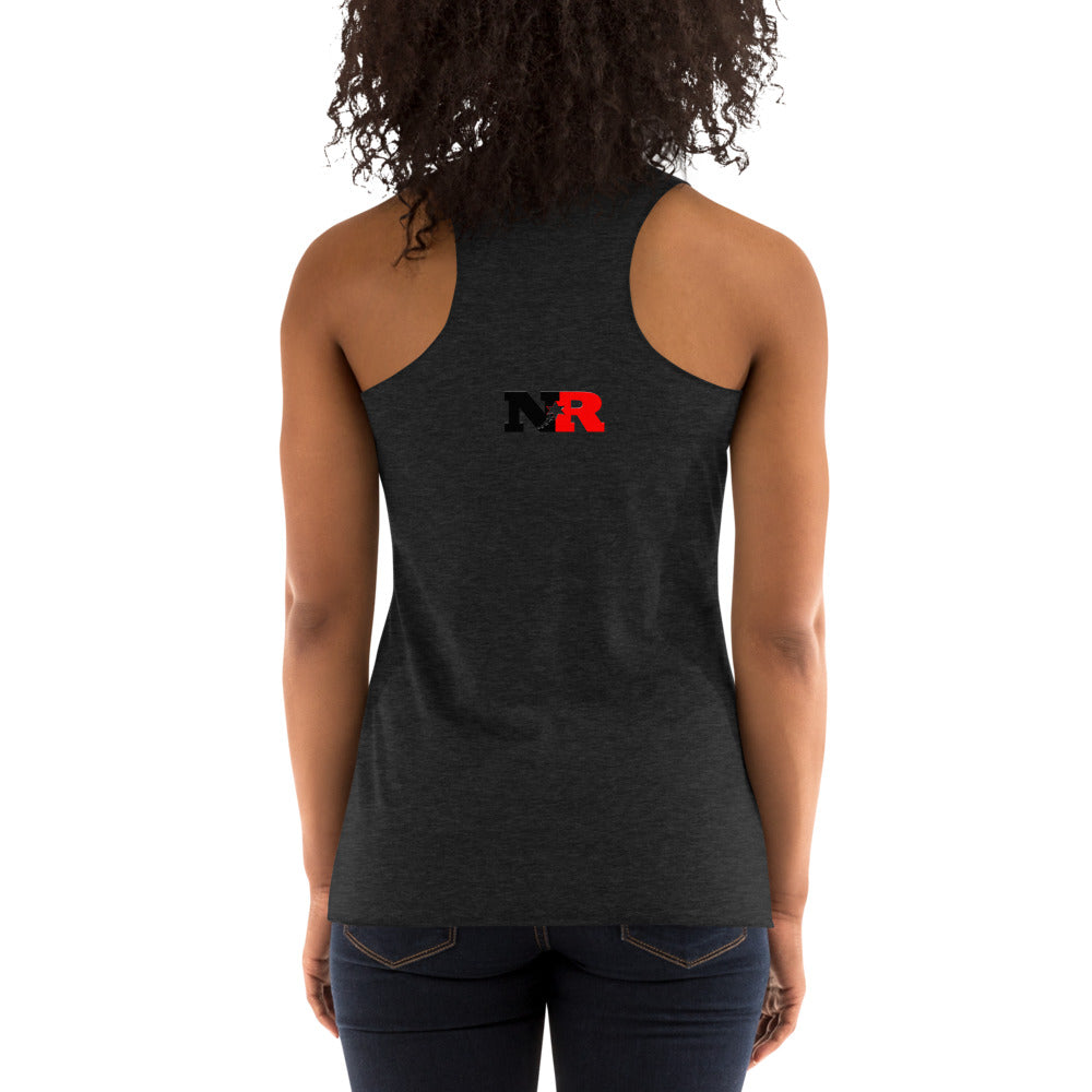 Women's Racerback Tank - 5 Stars 6 Points (Red)
