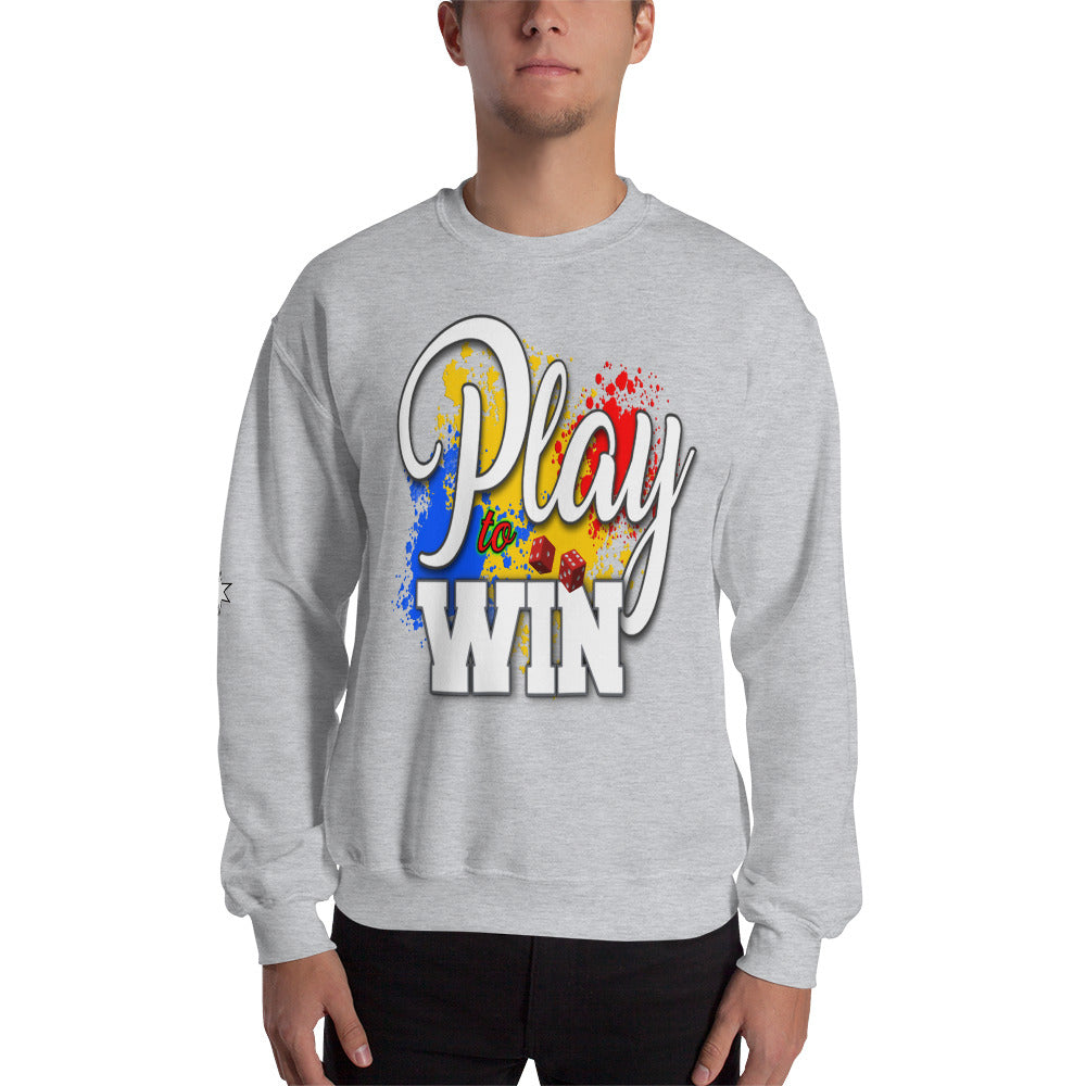 Sweatshirt - Play to win
