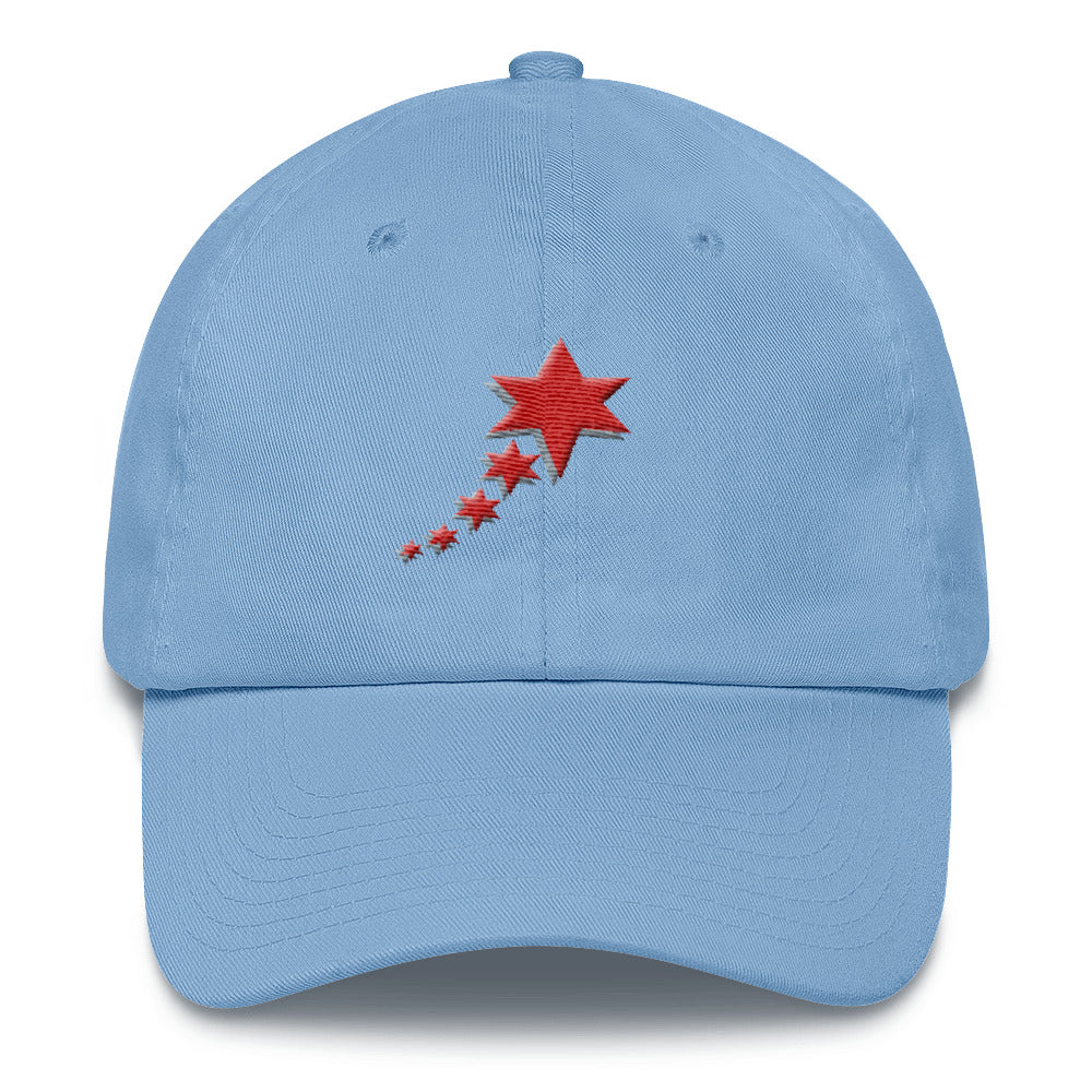 Cotton Cap - 5 Stars 6 Points (Red)