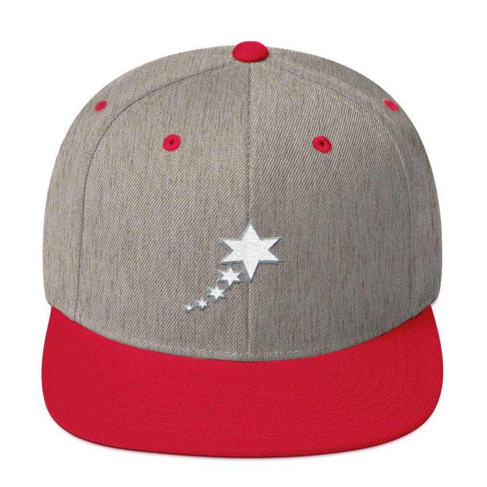 Snapback Hat - 5 Stars 6 Points