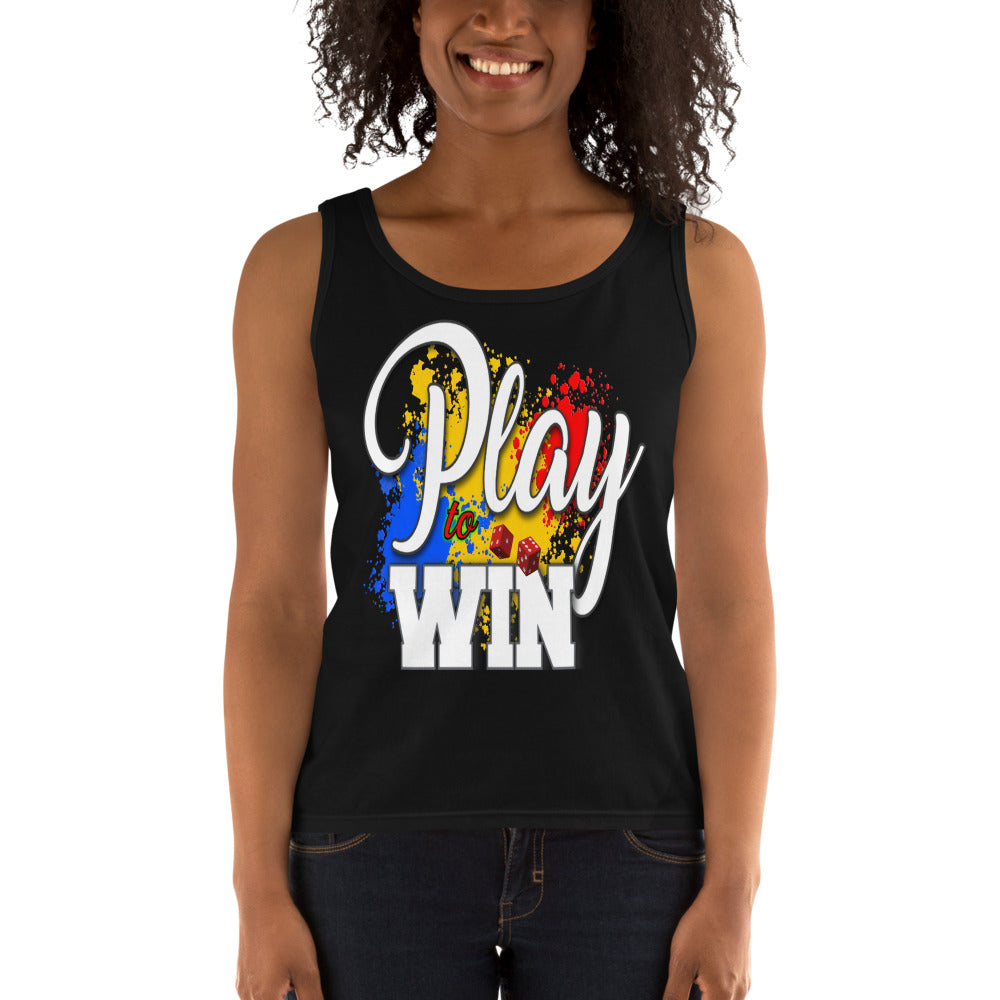 Ladies' Tank - Play to Win