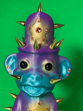 Load image into Gallery viewer, Flashy Monkey Cop: Teal, Purple and Gold