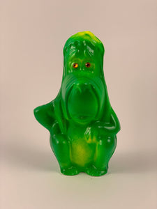 Mister Droopy Chalkware: Green and Yellow