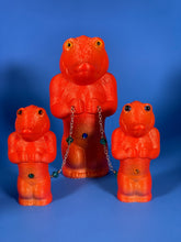 Load image into Gallery viewer, Wonderful Time Croc-Ape Family: Red/Orange