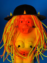 Load image into Gallery viewer, Yellow and Orange Ape with Spike Hat