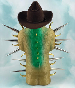 Country Style Gold and Green Spike Ape