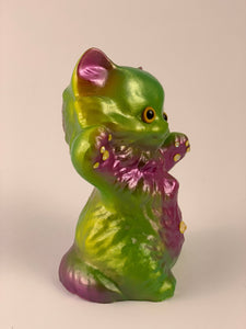 Kitty Kitty: Purple and Green Pearlescent