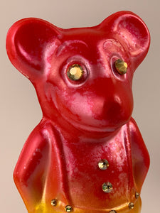 Mister Mouse Chalkware: Pearlescent Red and Yellow
