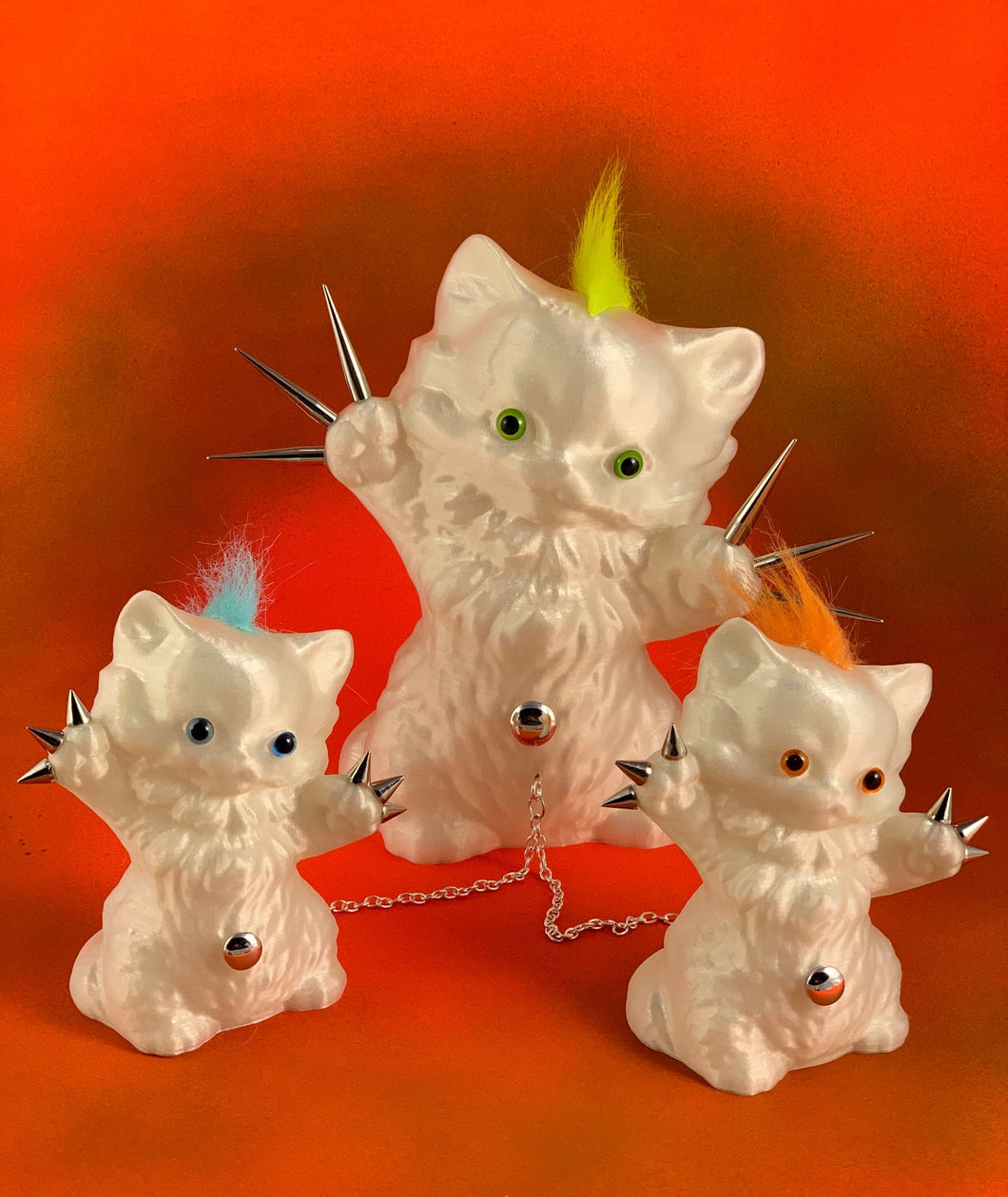 Glow in the Dark Kitty Cats