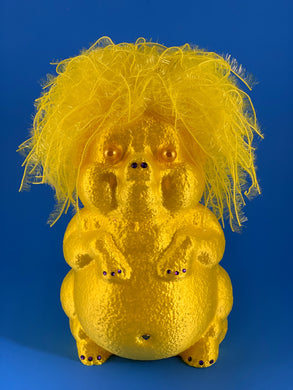 Golden Yellow Pig
