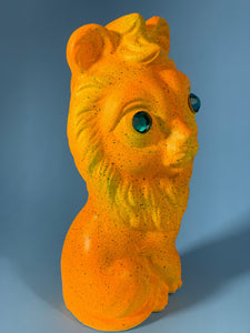 Orange and Yellow Lion
