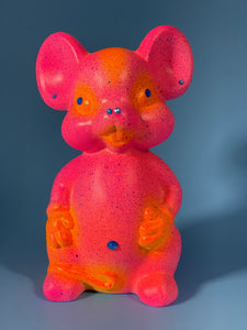 Pink and Orange Mouse
