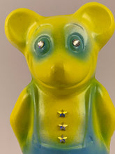 Load image into Gallery viewer, Mister Mouse Chalkware: Blue and Yellow with Stars