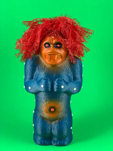 Crazy Danger Ape: Blue Glitter, Red hair