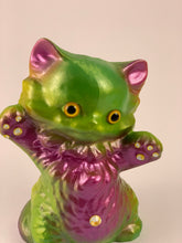 Load image into Gallery viewer, Kitty Kitty: Purple and Green Pearlescent
