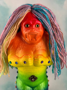 Super Rainbow Ape Deluxe, Translucent.