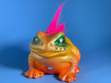 Toad with Pink Hair