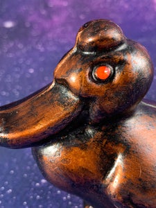 Bronze Lucky Duck