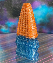 Load image into Gallery viewer, 200 Head Ape: Orange and Blue Glitter