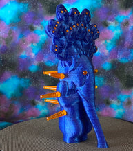 Load image into Gallery viewer, King God Elephant Ape: Blue Glitter with Orange