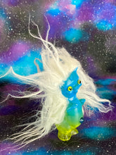 Load image into Gallery viewer, White Haired Twisty Pig of Blue and Yellow