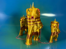 Load image into Gallery viewer, Gold and Copper Elephants