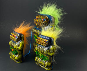 5 Headed Freak Apes: Green/Orange/Yellow