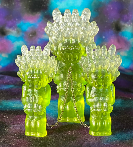 Super Tall Mega God Lord Ape Freaks: green/clear/white
