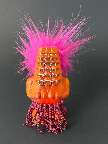 Tall Stack Ape Freak with Pink Hair