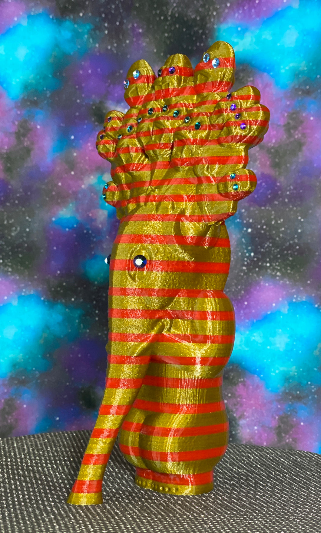 King God Elephant Ape: Gold/Red