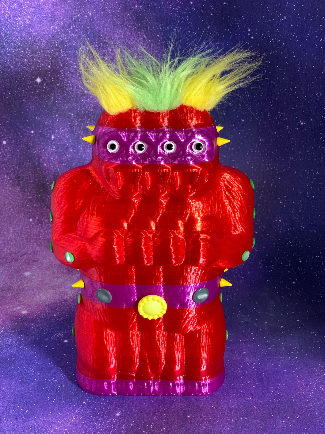 Translucent red and Purple Freak of Nature Ape