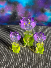 Load image into Gallery viewer, Aton Pig Set: Purple/Clear/Green