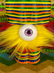 Giant Eyeball Rainbow Ape