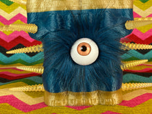 Load image into Gallery viewer, Crocodile Ape Cult: Gold Spiked Eyeball King