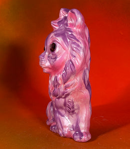 Pink and Purple Lion