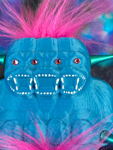 Pink and Blue Freak of Nature Ape