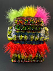 5 Headed Freak Ape: All The Colors and Fuzz
