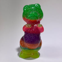 Load image into Gallery viewer, Resin Casts: Neon Glitter Rainbow