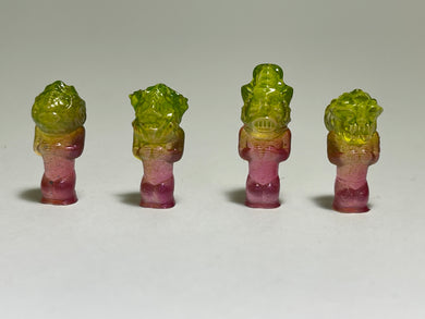 Space Ape Revenge Squad: mini prototype set, green/pink